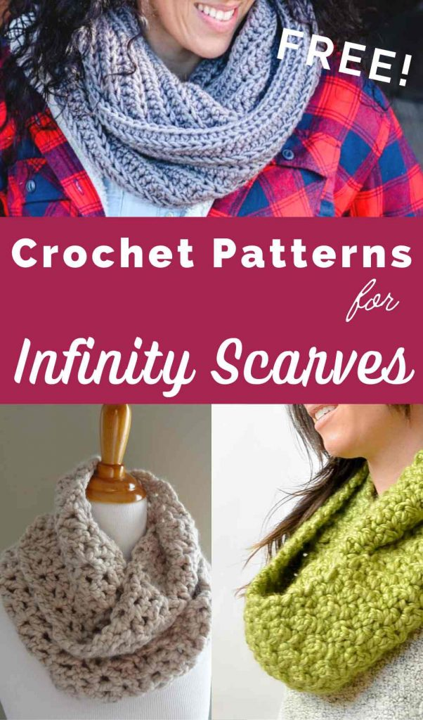 free crochet patterns for infinity scarves and cowls