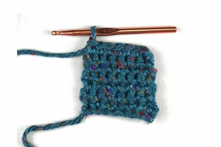 How to do a Single Crochet Stitch (sc)