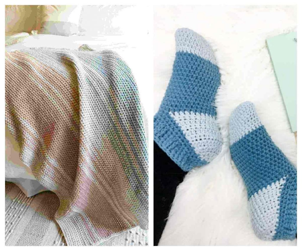 half double crochet patterns