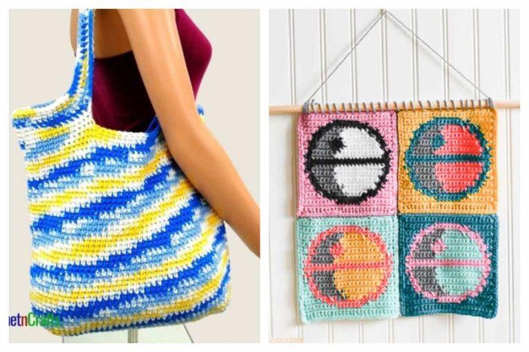 Single Crochet Patterns (Great for Beginners!)