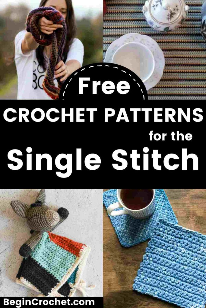 All free patterns for single stitches