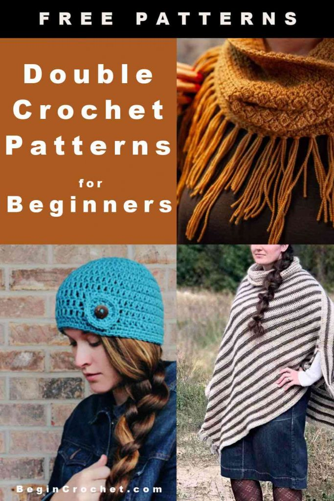 All free pattern for double crochet stitch
