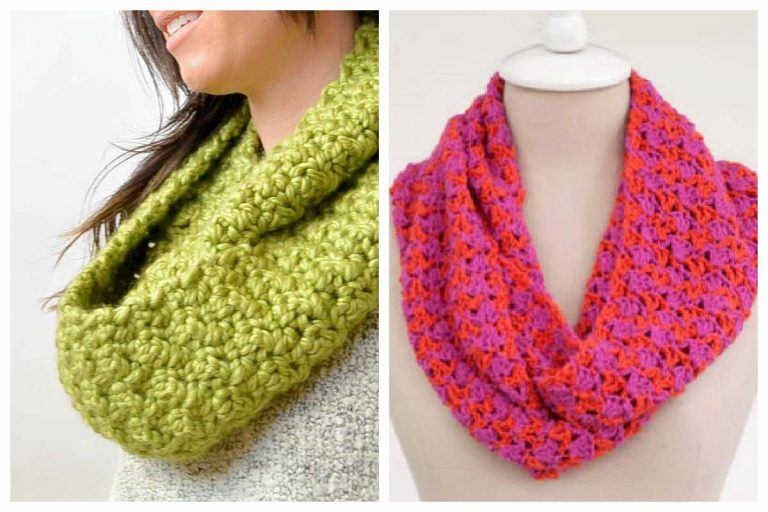 Cowl and infinity scarf patterns
