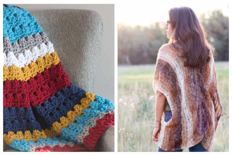 Triple Crochet Patterns for Blankets, Hats, Scarves and More